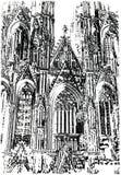 Cathédrale à Cologne. Photos libres de droits
