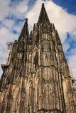 Cathédrale à Cologne (Allemagne) Image libre de droits