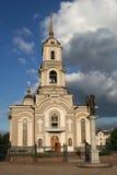 Cathédrale à Donetsk/en Ukraine Images libres de droits