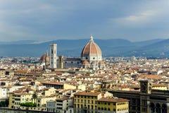 Cathédrale à Florence, Italie Photos libres de droits