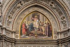Cathédrale à Florence, Italie Photographie stock