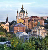 Cathédrale à Kiev Photographie stock