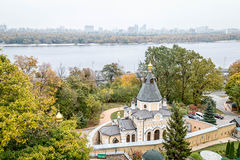 Cathédrale à Kiev Image stock