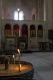 Cathédrale à l'intérieur Images libres de droits