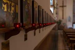 Cathédrale à l'intérieur Images stock