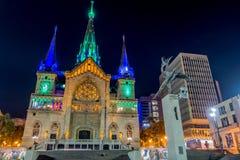 Cathédrale à Manizales, Colombie images libres de droits