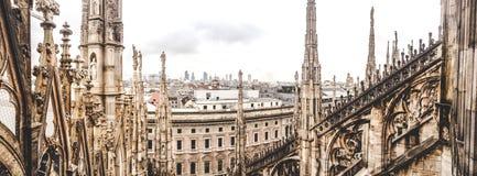 Cathédrale à Milan photos libres de droits