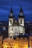Cathédrale à Prague Image stock