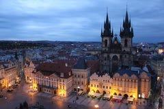 Cathédrale à Prague Photo libre de droits