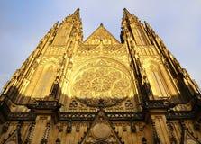 Cathédrale à Prague - République Tchèque Photos stock
