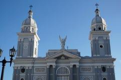 Cathédrale à Santiago Image libre de droits
