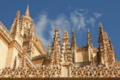 Cathédrale à Segovia Photographie stock