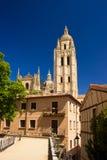 Cathédrale à Segovia Images libres de droits