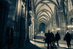 Cathédrale à Strasbourg Photographie stock