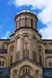 Cathédrale à Tbilisi, la Géorgie Photographie stock