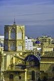 Cathédrale à Valence Images libres de droits
