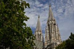 Cathédrale à Vienne Images libres de droits