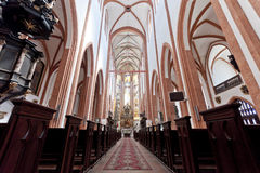 Cathédrale à Wroclaw Image libre de droits