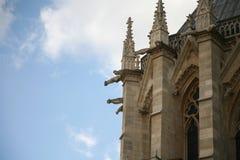 Cathédrale巴黎圣母院 库存图片
