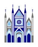 Cathédrale illustration de vecteur