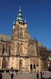 Cathédrale 2 de Veit de saint Photos stock