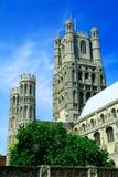 Cathédrale 4 d'Ely Image libre de droits