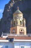 Cathédrale admirablement décorée de St Andrew à Amalfi, Italie Images libres de droits