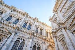 Cathédrale antique à Venise Photos libres de droits