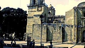 Cathédrale archivistique d'Oaxaca au Mexique clips vidéos