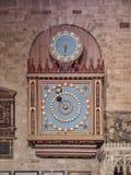 Cathédrale astronomique Devon R-U d'Exeter d'horloge Photographie stock