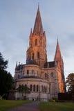 Cathédrale au crépuscule Images stock