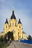 Cathédrale au nom du prince saint Alexander Nevsky Nizhn Image libre de droits