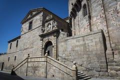 Cathédrale, Avila, Castille y Léon, Espagne images libres de droits