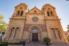 Cathédrale Bascilica de St Francis Assisi en Santa Fe Image libre de droits