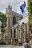 Cathédrale Belgique de Bruges Photos libres de droits