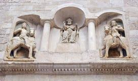 Cathédrale Bisceglie (Pouilles) Italie de Protome Photographie stock libre de droits