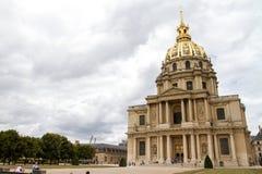 Cathédrale célèbre à Paris Images libres de droits