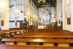 Cathédrale célèbre de St Johns en Hong Images stock