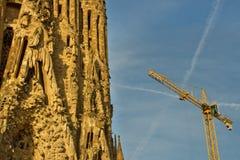 Cathédrale Cagrada Familia Images libres de droits