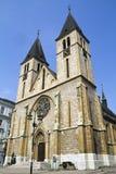 Cathédrale catholique à Sarajevo, en Bosnie et Herzego Photographie stock