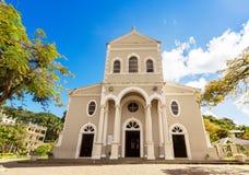 Cathédrale catholique de la conception impeccable, Victoria, Images stock