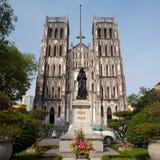 Cathédrale catholique de rue Joseph, Hanoï, Vietnam Photo libre de droits