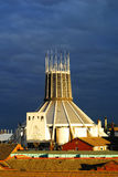 Cathédrale catholique, Liverpool Photo stock