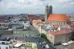 Cathédrale centrale de Munich Image libre de droits