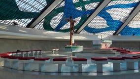 Cathédrale chrétienne Image libre de droits