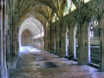 Cathédrale-Cloîtres 01 de Gloucester Photographie stock