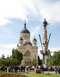 Cathédrale Cluj d'Orthdox Image libre de droits