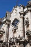 cathédrale Cuba la Havane vieille Photos stock