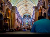 Cathédrale d'église Images libres de droits