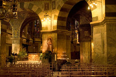 Cathédrale d'Aix-la-Chapelle images libres de droits